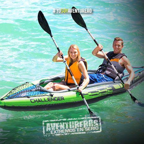 Kayak en presa de la Boca