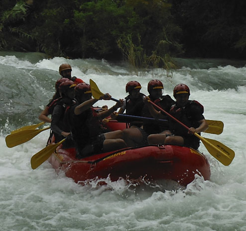 Rafting Tampaón River (SLP)
